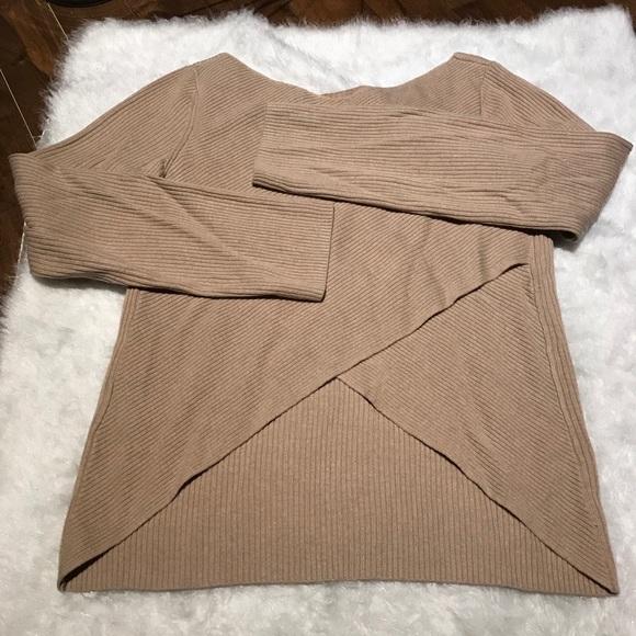 Aritzia Babaton Kitano Sweater-Beige-Size S